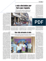Una Vida Mirando al Cielo Nando Domi9nguez La opinion de Zamora 2017