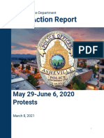 After Action Report 2020
