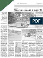 Altamira de Caceres se niega a morir