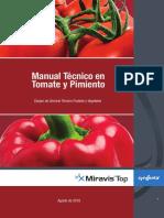 Manual tecnico Miravis en tomate y pimiento