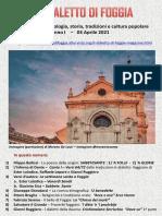 Il Dialetto Di Foggia N. 10 Del 03-04-2021