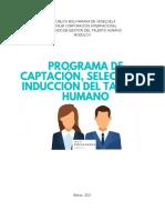 Programa de Captacion y Seleccion de Personal