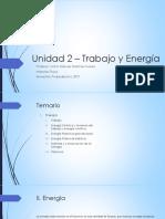 Unidad 2-Trabajo y Energia
