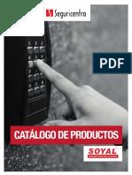 Catalogo Seguricentro Access Soyal