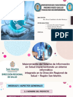 IDENTIFICACION DEL PROYECTO DE INVERSION SALUD