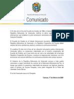 COMUNICADO Venezuela-reafirma-Acuerdo-de-Ginebra-de-1966