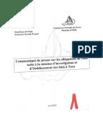 La Commission des droits humains (CNDH) confirme des cas de viols commis par des soldats du contingent tchadien à Téra