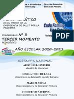 PLAN TEMÁTICO 3ER MOMENTO PRIMARIA-2