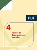 documentos e arquivo
