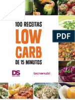 . 100 Receitas Low Carb