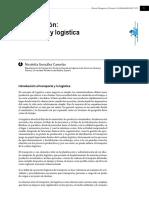 González Cancelas (2016) Presentació de Dossier, Transporte y Logística