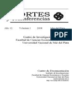 Almiron, Bertoncello, (2008) El turismo como impulsor del desarrollo en argentina