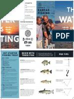 Kansas State Fishing Brochure