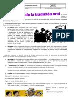 GUIA OTRAS FORMAS DE TRADICION ORAL