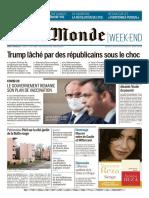 Le Monde Du Samedi 9 Janvier 2021