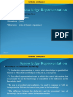 Knowledge Representation Using Rules