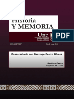 Castro-Gomez, Entrevista. Transdisciplina y Estudios Poscoloniales