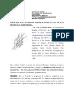 SOLICITO Y OTRO CALUDIO RIVALDO