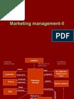 Marketing management-II