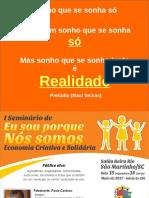 PALESTRA SAO MARTINHO PRIMEIRO DIA