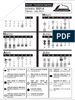 Calendario FI 2021A