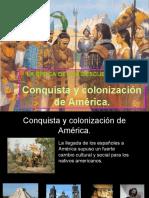 CONQUISTA Y COLONIZACIÓN DE AMÉRICA (1)