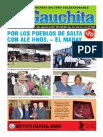 REVISTA LA GAUCHITA (SALTA) N 159 EFEMERIDES CUCHI LEGUIZAMÓN