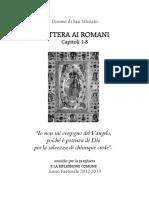 Sussidio Lettera Ai Romani