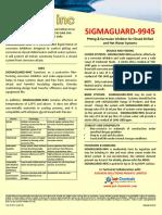 Sigmaguard 9945 PDS R1
