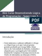 Mini curso SLOGO3 - Leão Sampaio