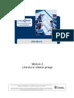 Literatura clasica griega I
