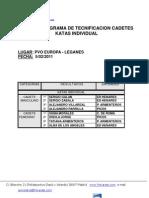 _resultados Trofeo Tecnificacion Cadetes 2011