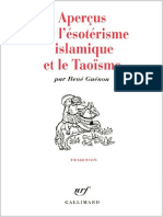 Apercus Sur l'Esoterisme Islami - Rene Guenon