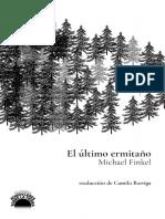Michael Finkel_El último ermitaño_traducción Camilo Barriga Dávalos