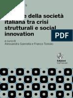 Le Sfide Della Socità Italiana Tra Crisi Strutturali e Social Innovation