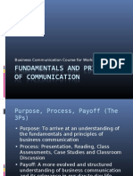 Fundamentals of Business Communication