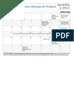 10 HRP April & May