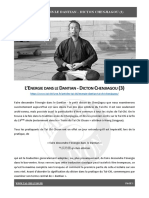 Energie dans le dantian I Dicton Chenjiagou (3) I Tai Chi Lyon