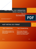 Muet Writing New Format 2021 - Softcopy Notes