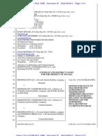 Democratic Underground's Supplemental Memorandum Addressing Recently Produced Evidence