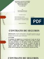 Contratos de Seguro Reaseguro y Cuenta Corriente
