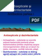 Antisepticele Şi Dezinfectantele.chimioterapicele