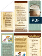 post partum brochure