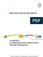 Méthodologie Quantitative Chap 3