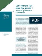 Lentreprenariat Chez Les Jeunes[1]
