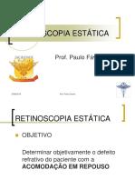 3.2 Retinoscopia Estática