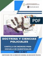 Cartilla Doctrina y Cs Policiales