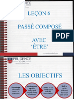 FRENCH Grade 8 - Passe Compose etre