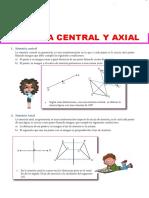T6Simetr%C3%ADa Central y Axial Para Primer Grado de Secundaria