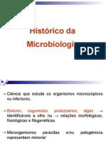 Aula1 Histórico da Microbiologia